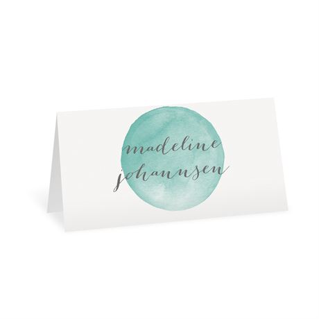Modern Glow Place Card