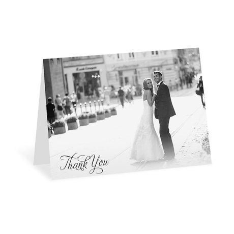 Photo Love Thank You Card