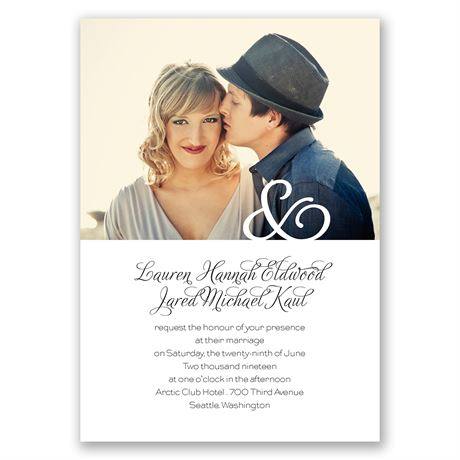 Photo Love Invitation