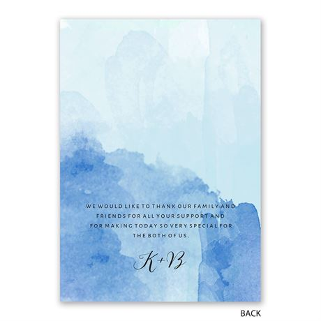 Love Embraced - Pastel Blue - Program