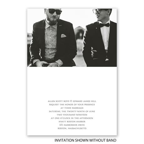 Be Bold - Invitation