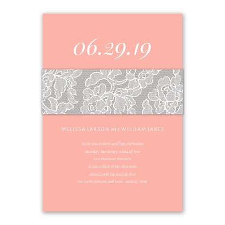 Romantic at Heart Invitation