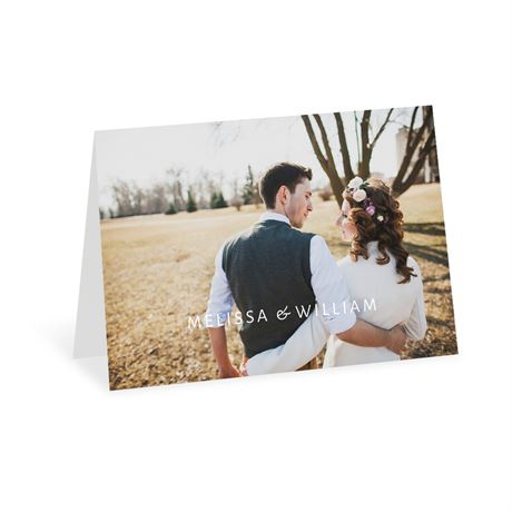 Romantic at Heart Thank You Card