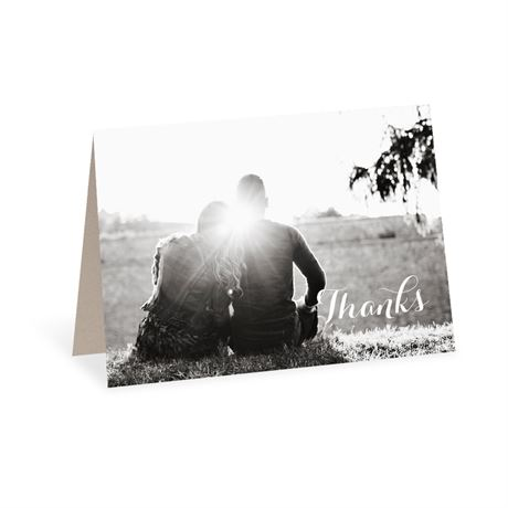 Truly Inviting Thank You Card