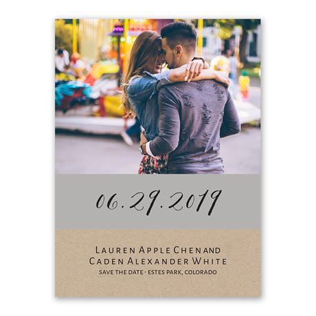 Truly Inviting - Save the Date Card