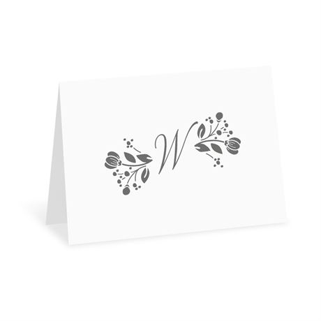 Adios Ayer - White - Thank You Card
