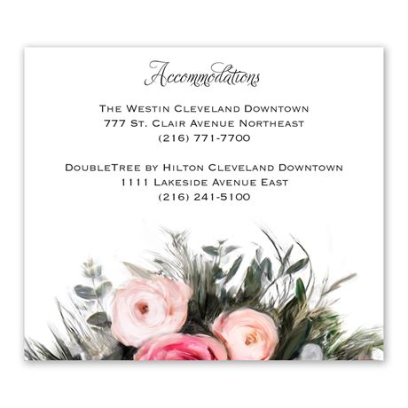 Ethereal Garden Accommodations Card