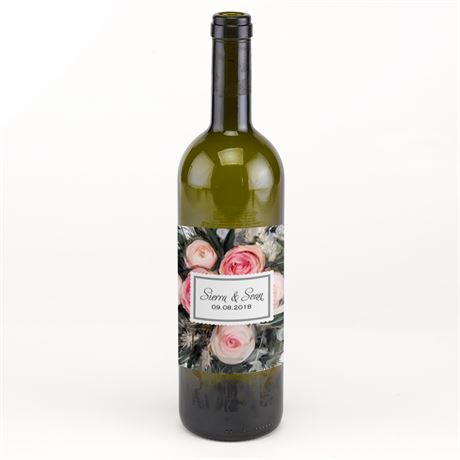 Ethereal Garden Wine Bottle Label