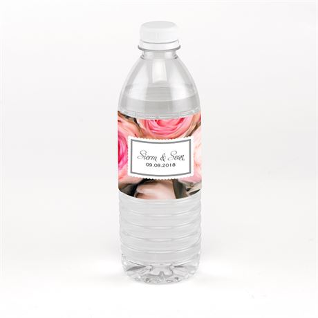 Ethereal Garden Water Bottle Label