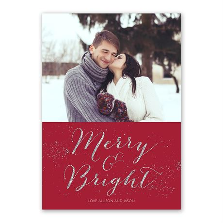 Holiday Magic - Foil Holiday Card