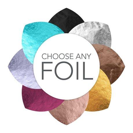 Joyful Florals - Foil Holiday Card