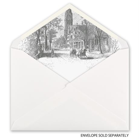 Country Christmas - Designer Envelope Liner