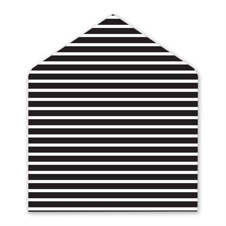 Bold Stripes Designer Envelope Liner