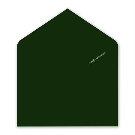 Evergreen Designer Envelope Liner