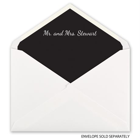 Custom Color - Designer Envelope Liner