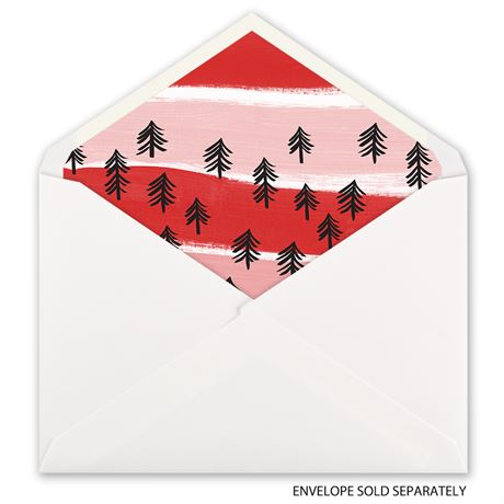 Candy Cane Wishes - Designer Envelope Liner