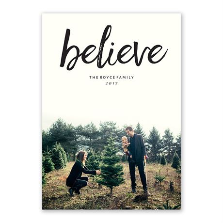 Believe - Holiday Card
