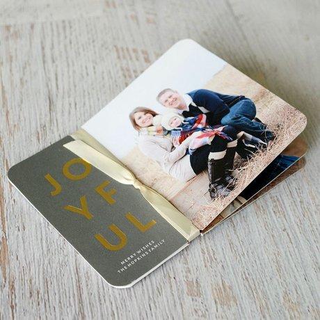 Joyful Story - Foil Holiday Flip Book