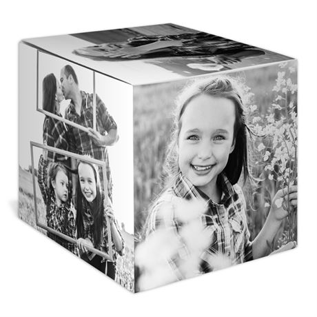 Northwoods Winter - Holiday Photo Cube