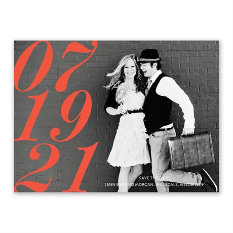 Looking Forward - Save the Date Card