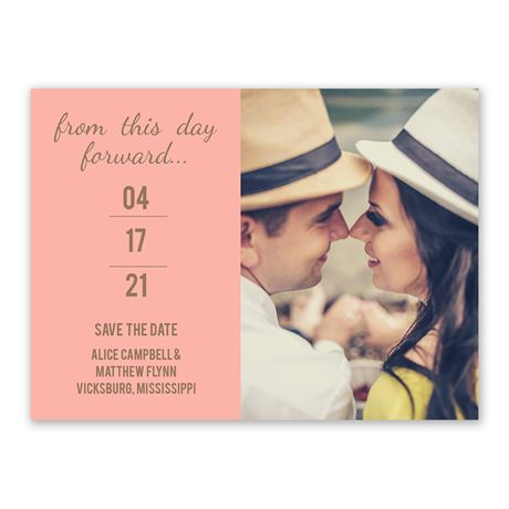 Simply Special - Save the Date Card
