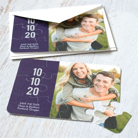 Sweet Smiles - Save the Date Puzzle
