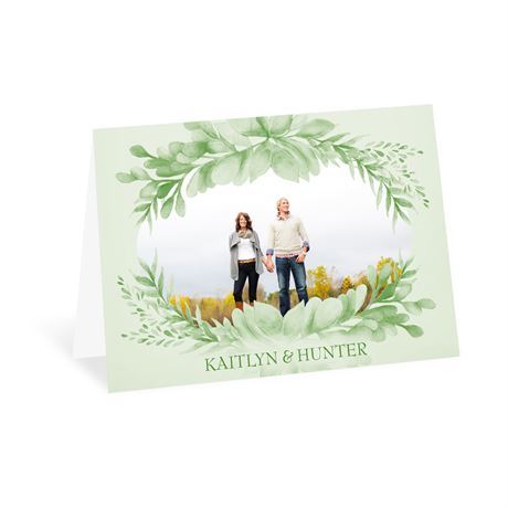 Naturally Delicate - Thank You Card