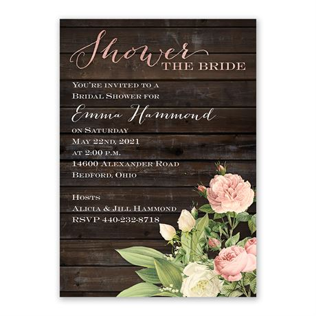 Freshly Picked - Bridal Shower Invitation