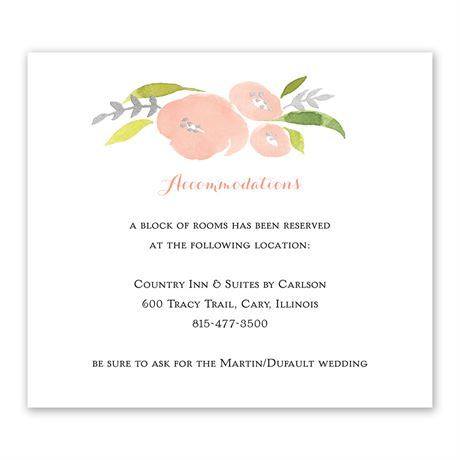 Garden Halo - Silver Foil - Information Card