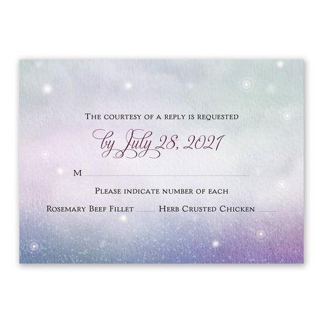Enchanting Response Card