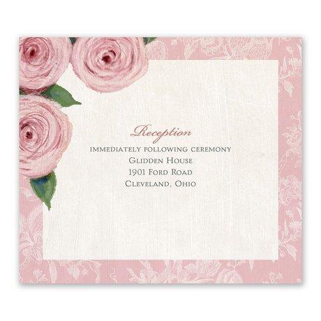 Victorian Rose Information Card