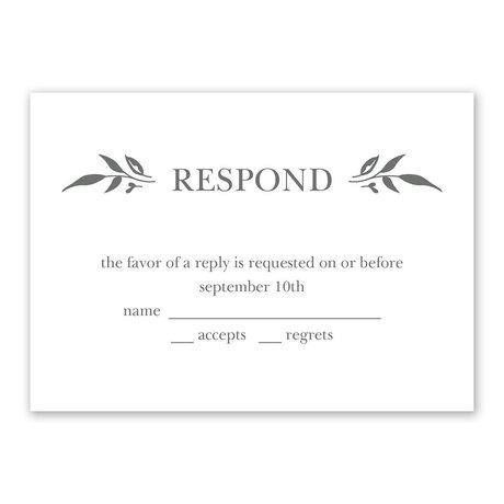Sweet Surround - Response Card
