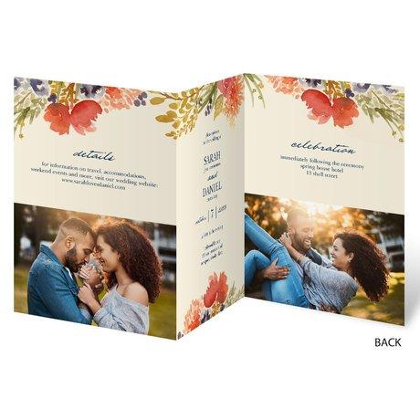 Autumn Foliage - Trifold Invitation