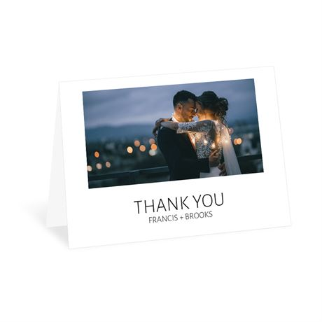 Minimalist Thank You Card