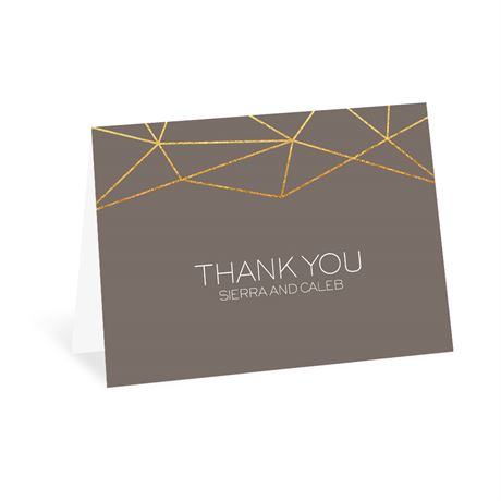 Modern Geo - Thank You Card