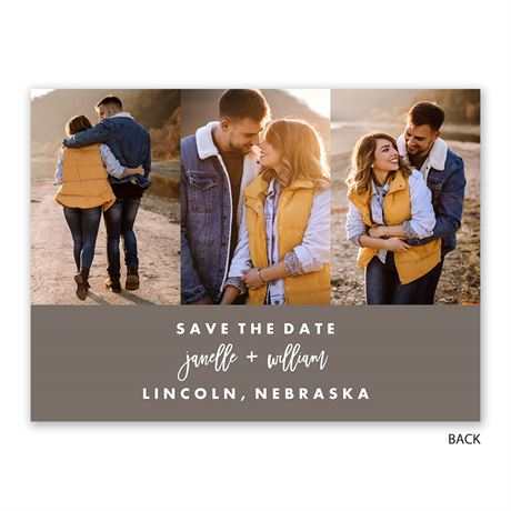 Flawless Date - Save the Date Card