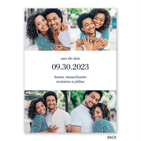 Two of Us - Save the Date Card