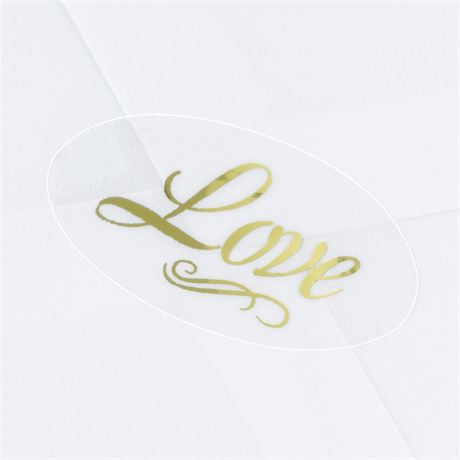 Blank Gold Love Seal