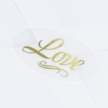 Blank Gold Love Seal