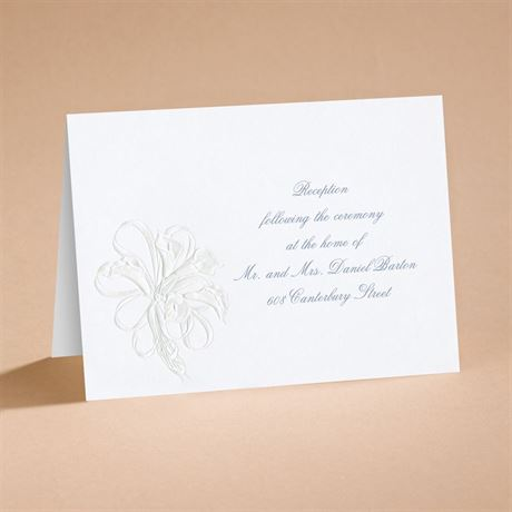 Lovely Reception Card