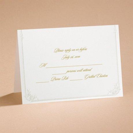Western Wedding Respond Card and Envelope