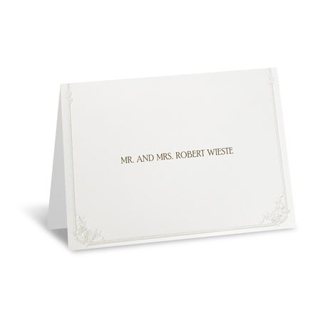 Western Wedding Note Card and Envelope