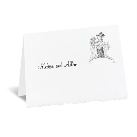 Playful Love Note Card and Envelope