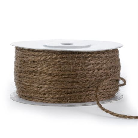 Jute Cord Chocolate 50yd spool