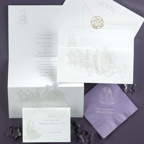 Disney Dreams Come True Invitation Cinderella