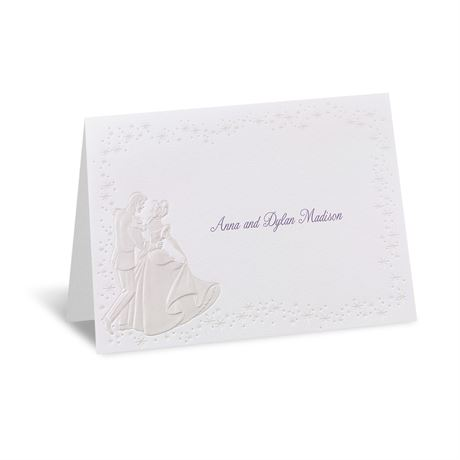 Disney Dreams Come True Note Card Cinderella