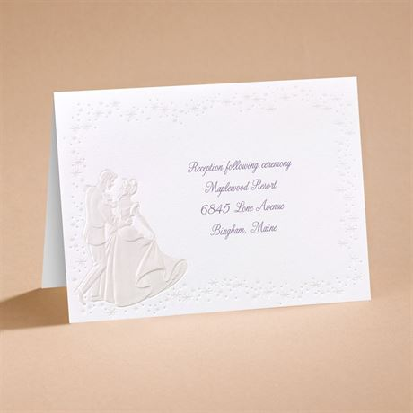Disney Dreams Come True Reception Card Cinderella