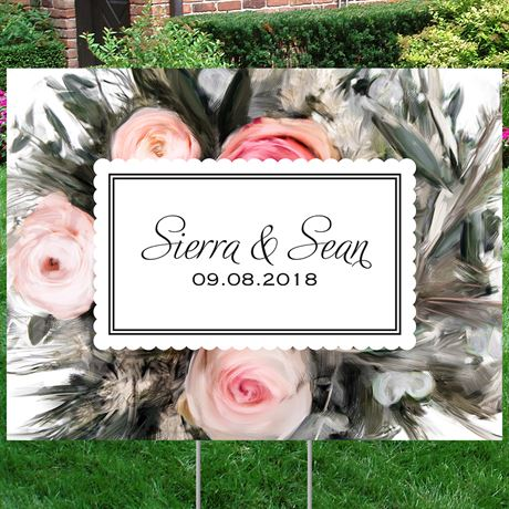 Ethereal Garden Yard Sign