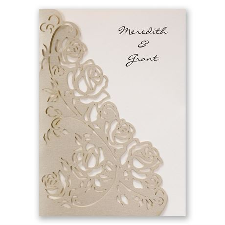 Wrapped in Roses Invitation