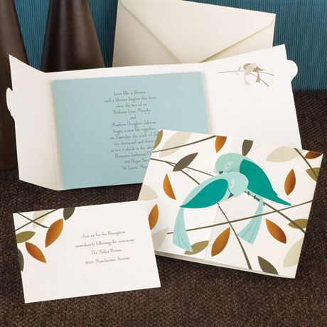 Love Birds Invitation